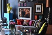 Фото 32 Глянцевая мебель для гостиной: придаем интерьеру акцентность и особый лоск