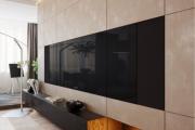 Фото 33 Глянцевая мебель для гостиной: придаем интерьеру акцентность и особый лоск