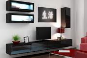 Фото 36 Глянцевая мебель для гостиной: придаем интерьеру акцентность и особый лоск