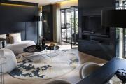 Фото 37 Глянцевая мебель для гостиной: придаем интерьеру акцентность и особый лоск