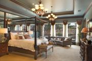 Фото 41 Гостиная и спальня в одной комнате: 120+ примеров комфортного зонирования