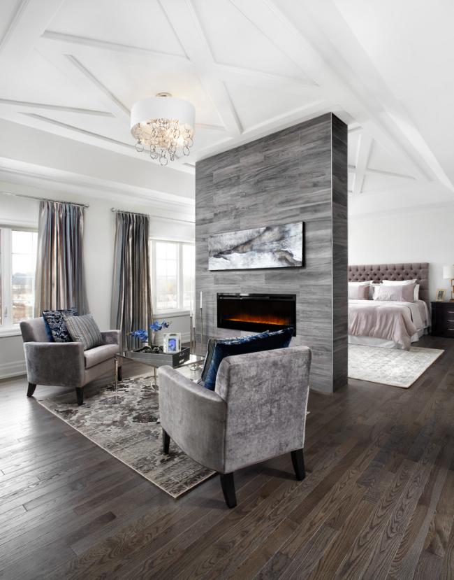Серый цвет отлично подойдет для оформления интерьера в стиле современная классика