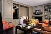 Фото 48 Гостиная и спальня в одной комнате: 120+ примеров комфортного зонирования