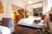 Фото 57 Гостиная и спальня в одной комнате: 120+ примеров комфортного зонирования
