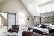 Фото 66 Гостиная и спальня в одной комнате: 120+ примеров комфортного зонирования