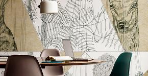 Графика в интерьере: 75 способов создания оригинального арт-пространства у себя дома фото