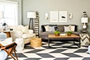 Фото 6 Графика в интерьере: 75 способов создания оригинального арт-пространства у себя дома