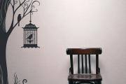 Фото 7 Графика в интерьере: 75 способов создания оригинального арт-пространства у себя дома