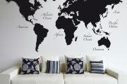 Фото 2 Графика в интерьере: 75 способов создания оригинального арт-пространства у себя дома