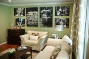 Фото 10 Графика в интерьере: 75 способов создания оригинального арт-пространства у себя дома