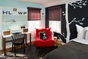 Фото 15 Графика в интерьере: 100 способов создания оригинального арт-пространства у себя дома