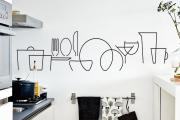 Фото 21 Графика в интерьере: 100 способов создания оригинального арт-пространства у себя дома
