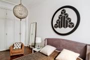 Фото 30 Графика в интерьере: 100 способов создания оригинального арт-пространства у себя дома