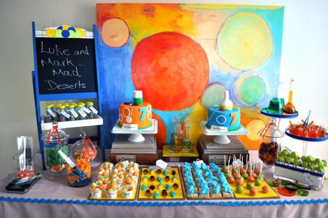 Астрономическая тематика в оформлении праздника
