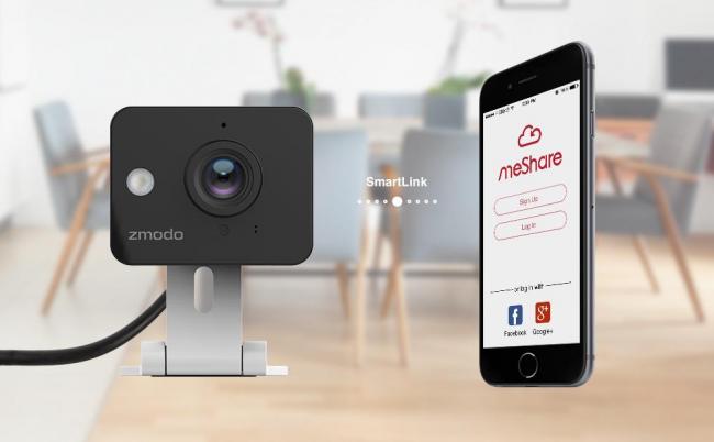 Zmodo ZM - SH75D001 имеет опцию использования с устройствами на базе ОС Windows, Android и iOS