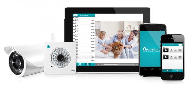 HomeMonitor HD Pro - система видеонаблюдения с защитой от атмосферных воздействий и системой беспроводной связи