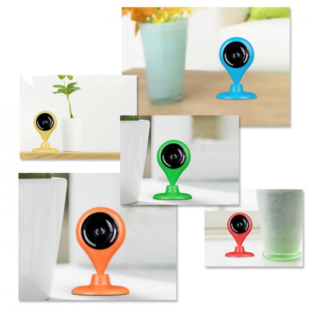 Камера видеонаблюдения 360 Smart WiFi IP Camera 720P HD доступна в разных расцветках
