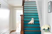 Фото 10 Лестница на второй этаж (120 фото): современные варианты оформления в частном доме