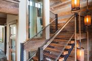 Фото 22 Лестница на второй этаж (120 фото): современные варианты оформления в частном доме