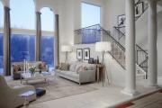 Фото 13 Лестница на второй этаж (120 фото): современные варианты оформления в частном доме