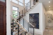 Фото 52 Лестница на второй этаж (120 фото): современные варианты оформления в частном доме