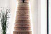 Фото 11 Лестница на второй этаж (120 фото): современные варианты оформления в частном доме