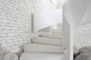 Фото 46 Лестница на второй этаж (120 фото): современные варианты оформления в частном доме