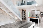 Фото 45 Лестница на второй этаж (120 фото): современные варианты оформления в частном доме