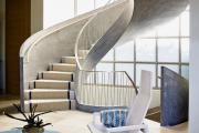 Фото 30 Лестница на второй этаж (120 фото): современные варианты оформления в частном доме