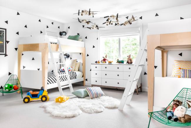 Люстра в детскую комнату: 90+ дизайнерских вариантов освещения для малыша