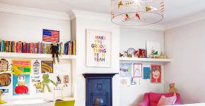Люстра в детскую комнату: 90+ дизайнерских вариантов освещения для малыша фото