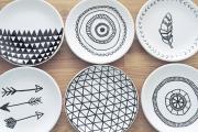 Фото 14 Пирожковые тарелки: стильное пополнение для домашнего сервиза