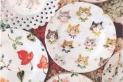 Фото 17 Пирожковые тарелки: стильное пополнение для домашнего сервиза