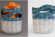 Фото 30 Плетение корзин из газетных трубочек: мастер-классы и советы для рукодельниц