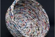 Фото 32 Плетение корзин из газетных трубочек: мастер-классы и советы для рукодельниц