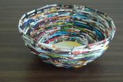Фото 33 Плетение корзин из газетных трубочек: мастер-классы и советы для рукодельниц