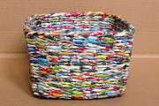 Фото 36 Плетение корзин из газетных трубочек: мастер-классы и советы для рукодельниц