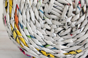 Фото 35 Плетение корзин из газетных трубочек: мастер-классы и советы для рукодельниц