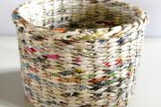 Фото 37 Плетение корзин из газетных трубочек: мастер-классы и советы для рукодельниц