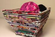 Фото 48 Плетение корзин из газетных трубочек: мастер-классы и советы для рукодельниц