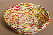 Фото 41 Плетение корзин из газетных трубочек: мастер-классы и советы для рукодельниц