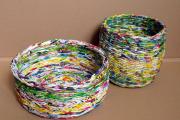 Фото 51 Плетение корзин из газетных трубочек: мастер-классы и советы для рукодельниц
