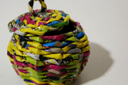 Фото 54 Плетение корзин из газетных трубочек: мастер-классы и советы для рукодельниц