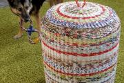 Фото 60 Плетение корзин из газетных трубочек: мастер-классы и советы для рукодельниц
