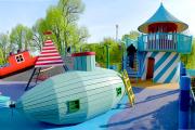 Фото 22 Покрытие для детских площадок из резиновой крошки: безопасность прежде всего