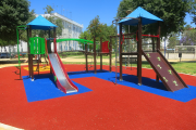 Фото 35 Покрытие для детских площадок из резиновой крошки: безопасность прежде всего
