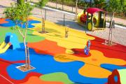 Фото 23 Покрытие для детских площадок из резиновой крошки: безопасность прежде всего