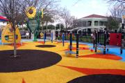 Фото 29 Покрытие для детских площадок из резиновой крошки: безопасность прежде всего