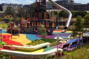 Фото 33 Покрытие для детских площадок из резиновой крошки: безопасность прежде всего