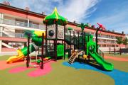 Фото 25 Покрытие для детских площадок из резиновой крошки: безопасность прежде всего